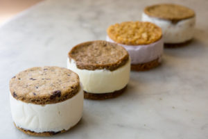 Assortment of Ice Cream Sandwiches